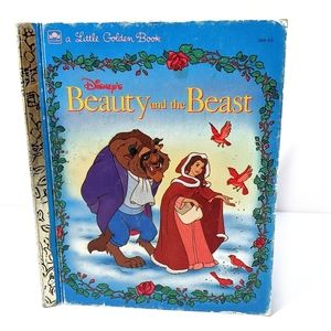 Vintage 1991 Disney's Beauty and the Beast Book